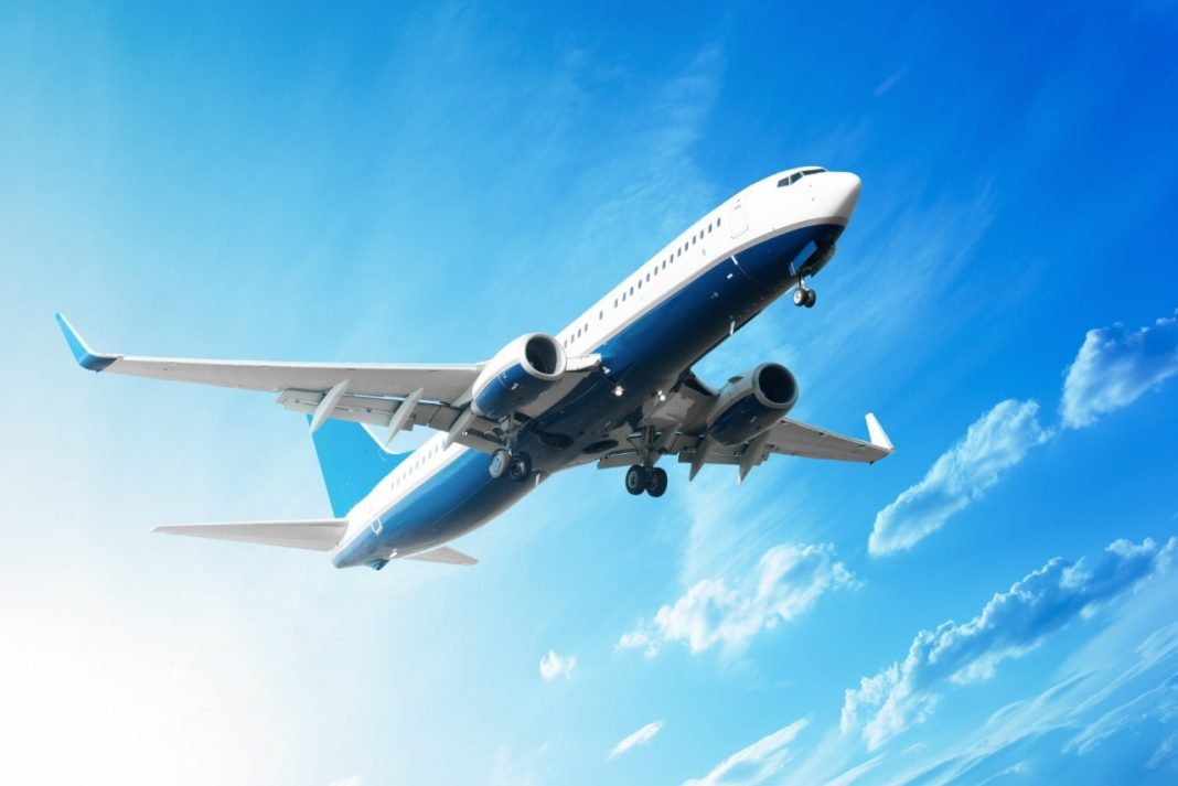 Avião azul onu