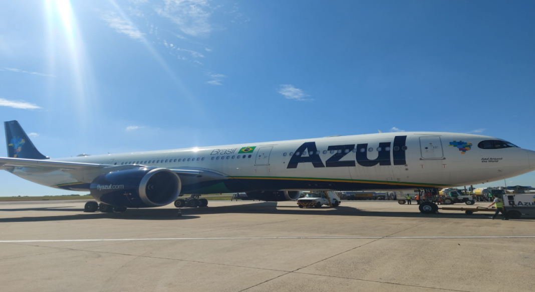 Azul companhia aérea